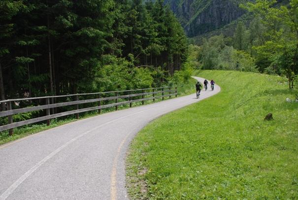 Ciclabile Valsugana: dal lago di Caldonazzo a Bassano del Grappa