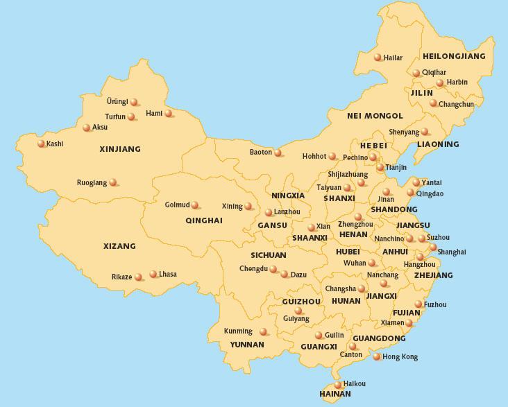 Cina in tour – partenze garantite a settembre da Milano