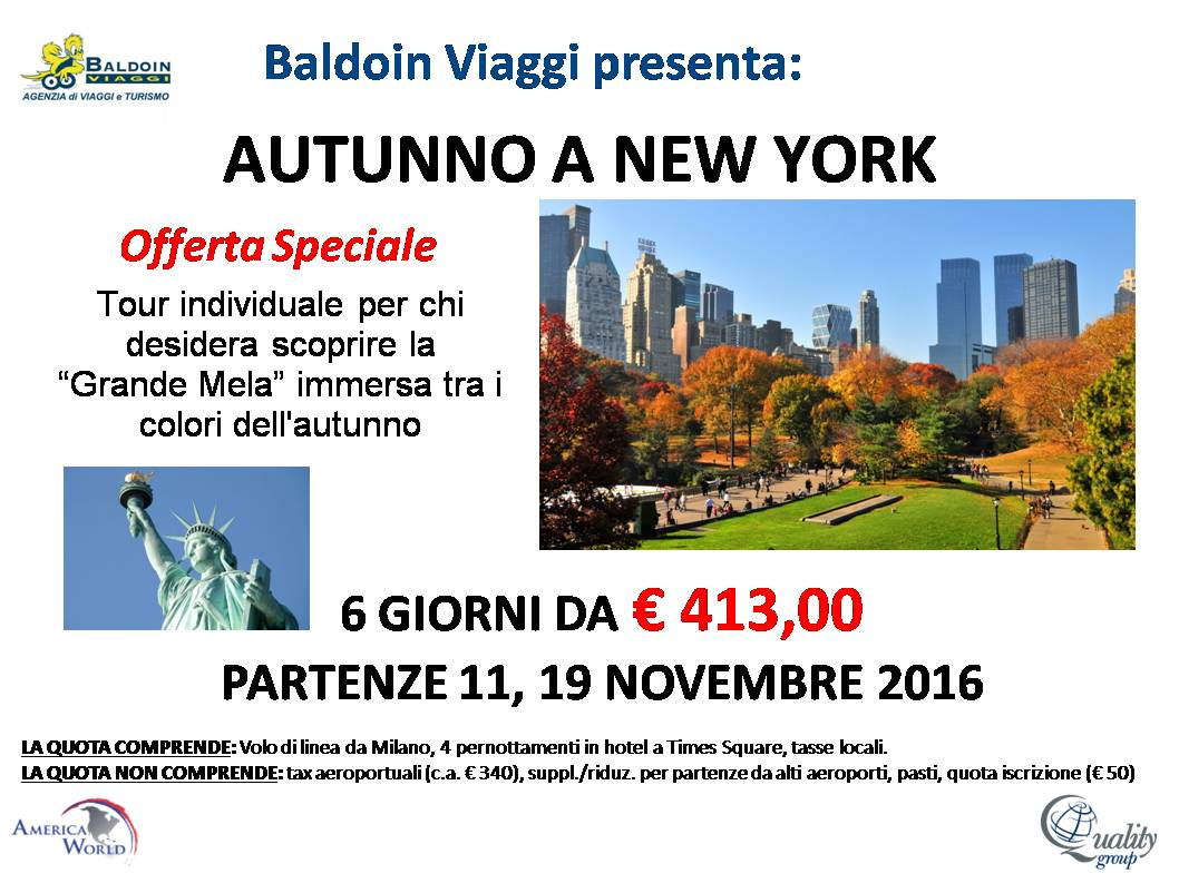 NY 2 - Autunno a New York