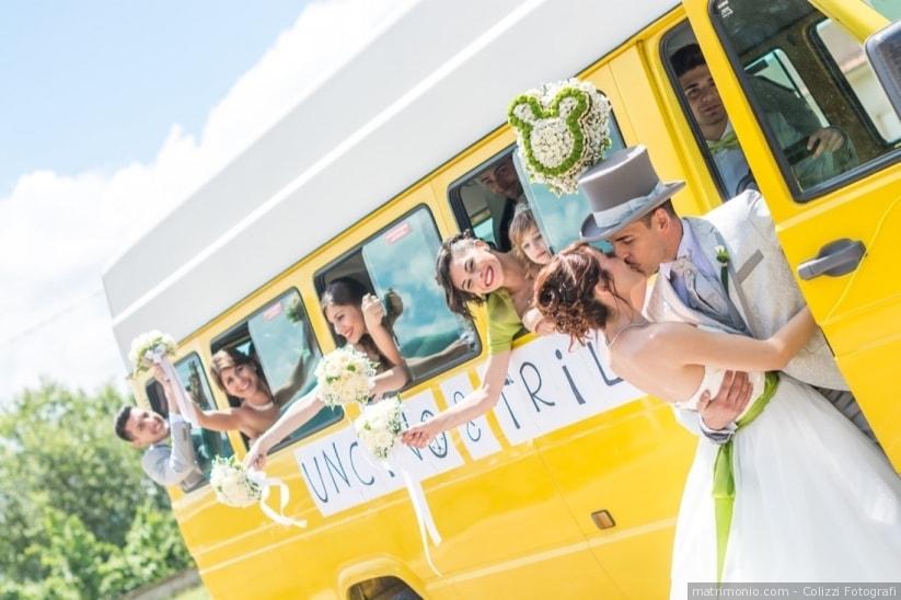 Bus Matrimonio - Noleggiare un pullman per la cerimonia di nozze