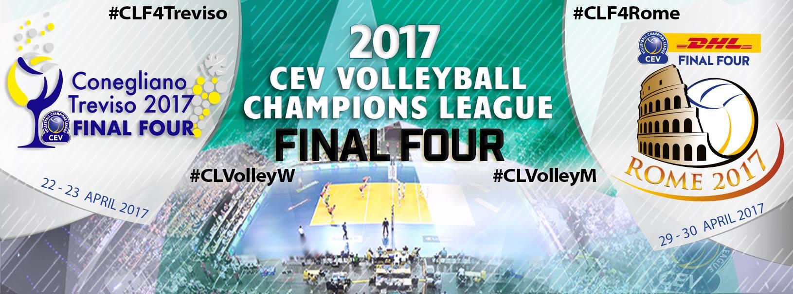 cevolley treviso - - 2 GIORNI...FINAL FOUR DI CHAMPIONS AL PALAVERDE! Noleggio pullman