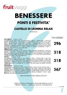 FRUIT VIAGGI 283x400 - Benessere Ponti e Festività - week end in Toscana