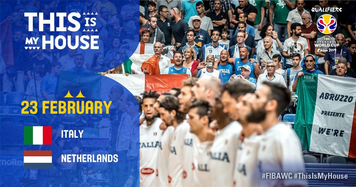 Italy vs Netherlands 23 Febbraio 2018 – Palaverde