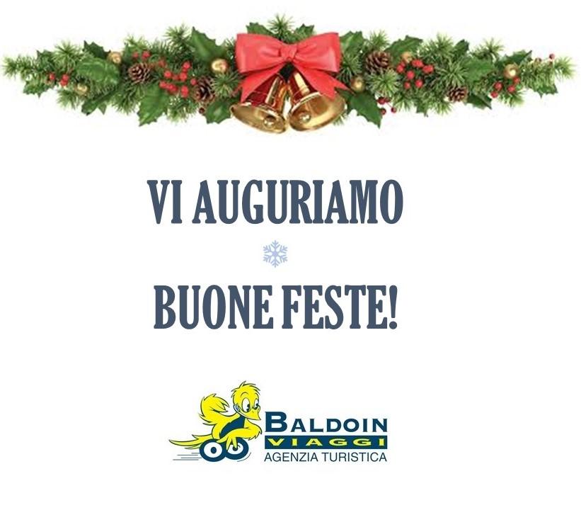 Buone Feste da Baldoin Viaggi!