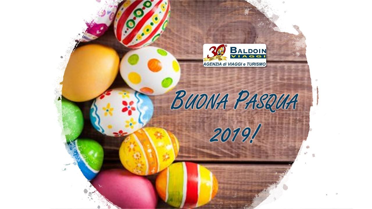 Buona Pasqua 2019 dal team di Baldoin Viaggi