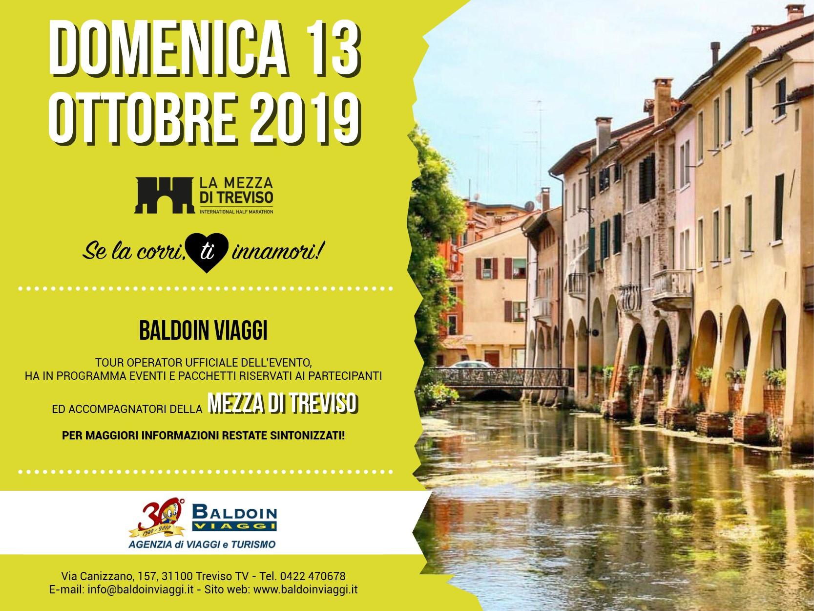 LA MEZZA TREVISO - 13 ottobre La Mezza Treviso riempie la città!