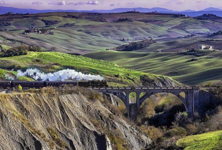 Treno Natura 5 768x520 1 - TRENO A VAPORE  da Siena a Montalcino - la Terra del Brunello 03/04 ottobre 2020
