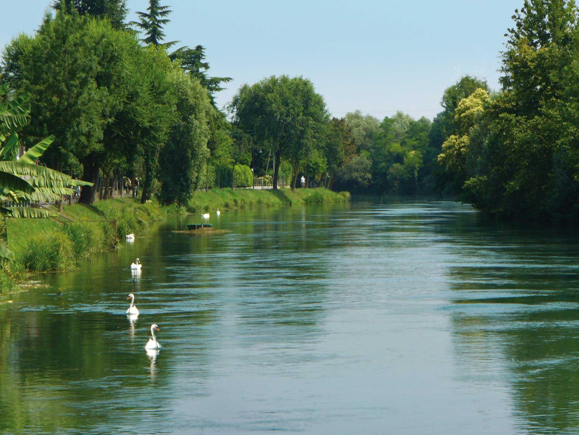 fiume sile a Treviso - SILE JAZZ - OLTRE IL CONFINE