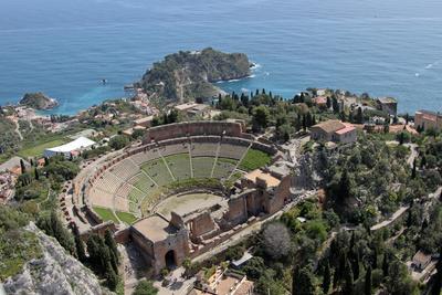 Italia Sicilia Taormina teatro - Tour Sicilia Classica - Volo da Venezia