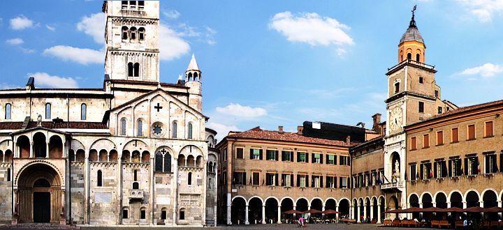 Modena - Modena la città e le acetaie
