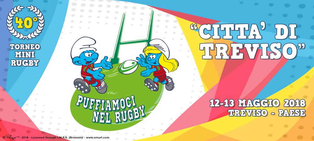 """puffiamoci nel rugby 2018 - Torneo Mini Rugby """"Città di Treviso"""" 40° edizione"""