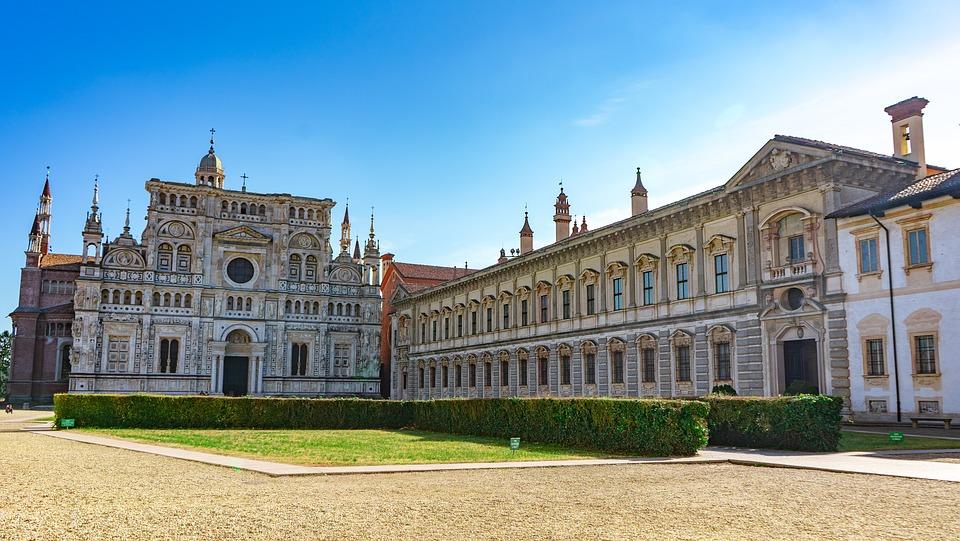 certosa di pavia 4053066 960 720 - Pavia e La Certosa delle Meraviglie - 26 Ottobre 2019